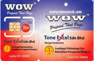 Tone Excel WOW Prepaid That Pays: Sim Card Registration Methods