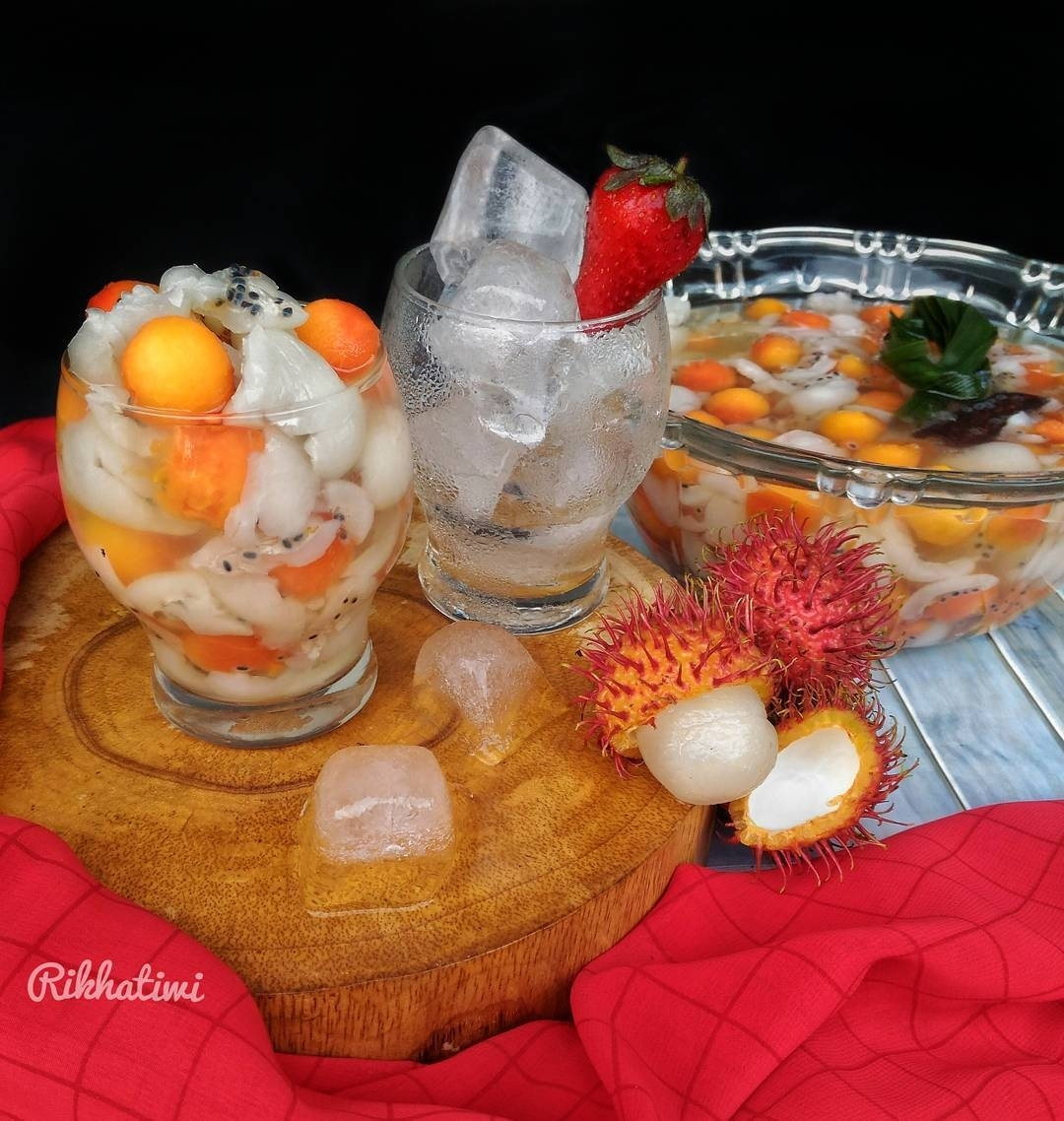 Resep Es Rambutan Seger By rikhatiwi Maknyus Diminum Siang Hari Saat Panas