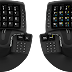 It's an ergonomic keyboard-mouse all-in-one!