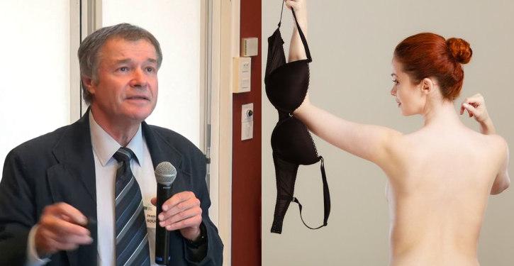 A Researcher From The University Of Besançon Advises Women To Wear The Br