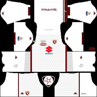 Torino FC 2018 - 2019 Away Kit