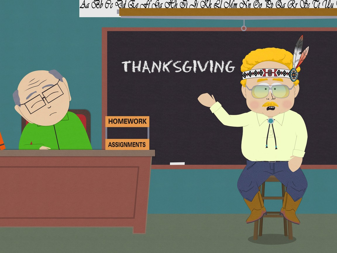 South Park - Season 15 Episode 13: A History Channel Thanksgiving