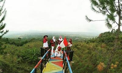 Lokasi Bukit tangkeban pemalang