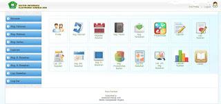 Tampilan Halaman Utama Aplikasi SI-EKA Kemenag