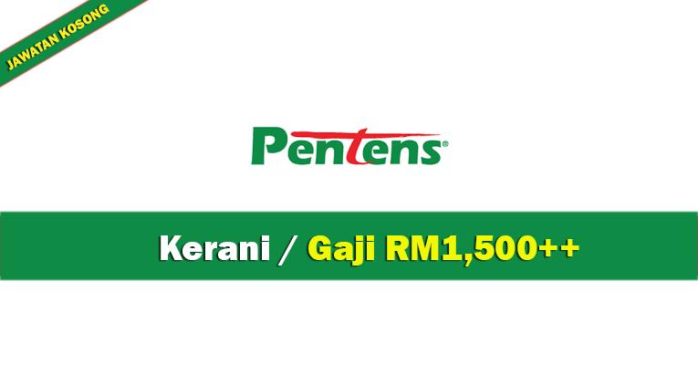 Jawatan Kosong di Pentens Holdings Sdn Bhd