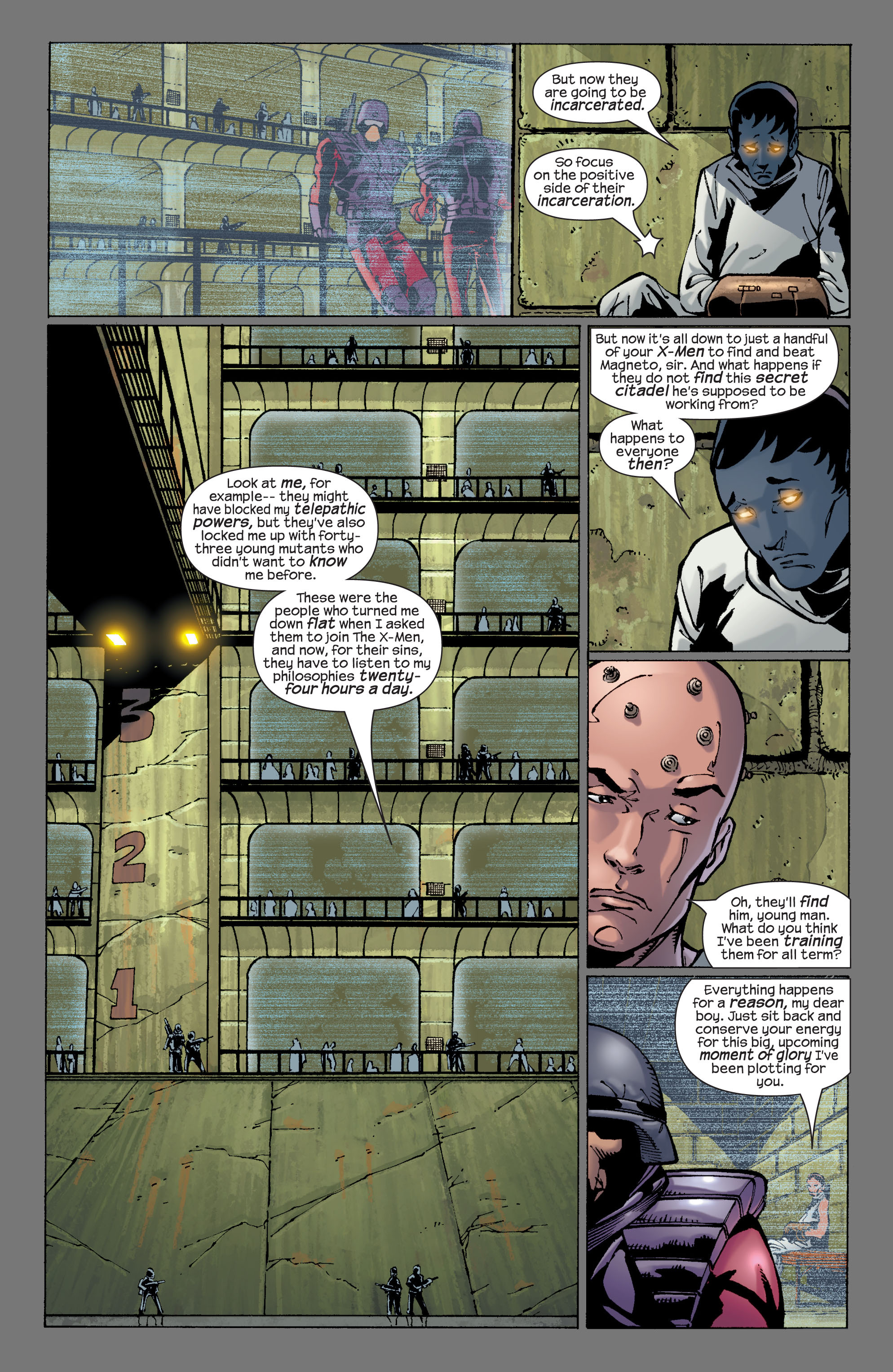 Read online Ultimate X-Men comic -  Issue #29 - 20