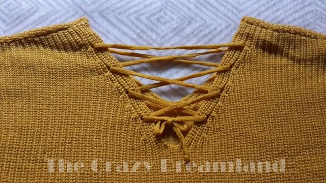 zaful sweater detalle espalda