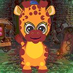 Games4King Baby Giraffe Rescue