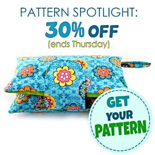 Diaper Clutch Pattern On Spotlight SALE