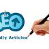 Tips dan Cara Menulis Artikel yang benar untuk spesialis SEO