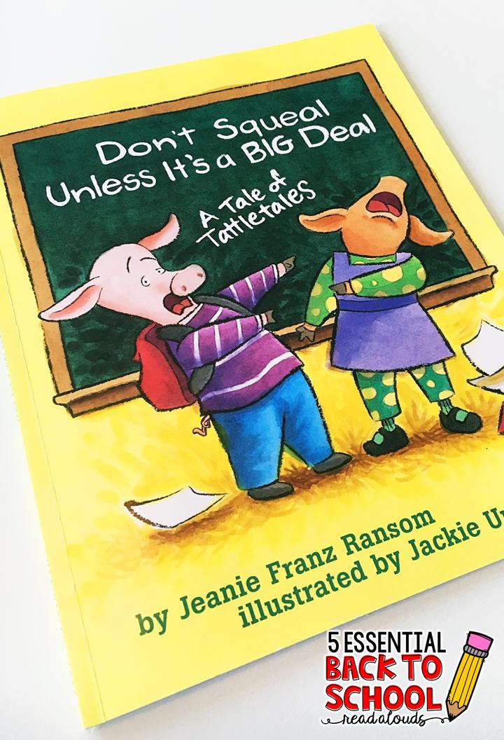 5 Essential Back to School Read Alouds - Mrs. Plemons ...