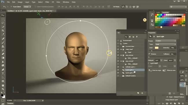 curso online de modelagem 3d no photoshop