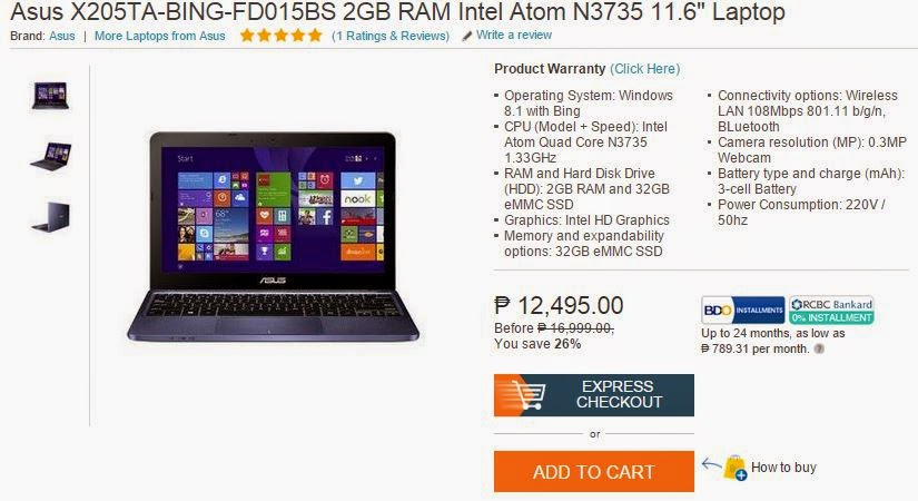 Asus Laptop Price In Philippines