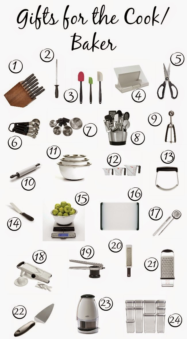 OXO Holiday Gift Guide for the Cook/Baker