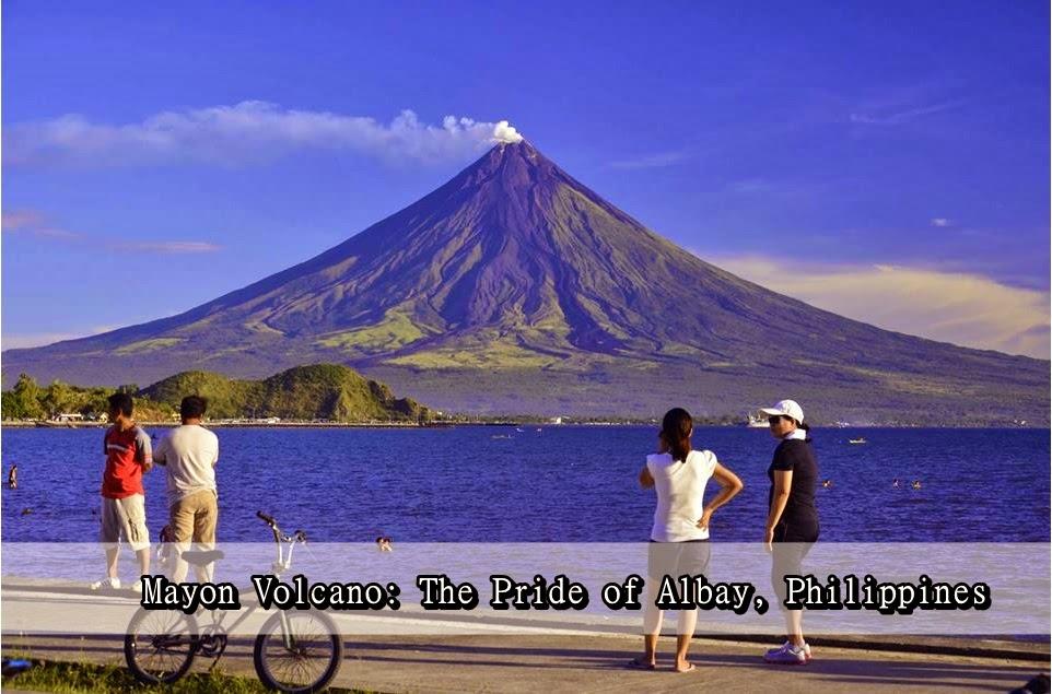 Tourist Spot in Albay, Philippines