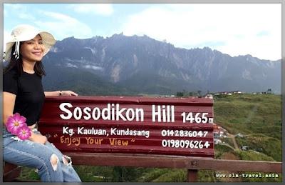SOSODIKON HILL, KUNDASANG