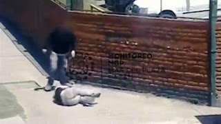 El ataque había quedado registrado por las cámaras de seguridad del Centro de Operaciones y Monitoreo del municipio.