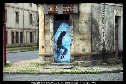 Sedan faubourg du Ménil Paco street artiste