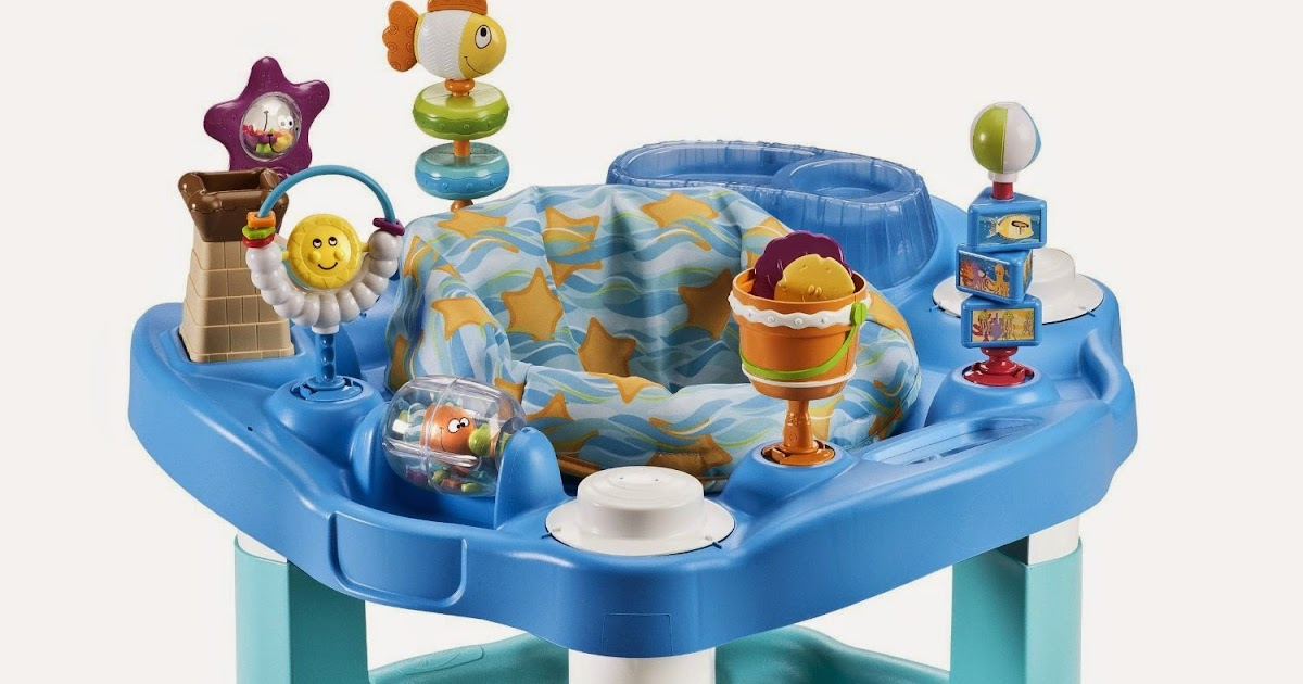 c8eaf68d5ae0 All Things Children  Evenflo Exersaucer Bounce   Learn