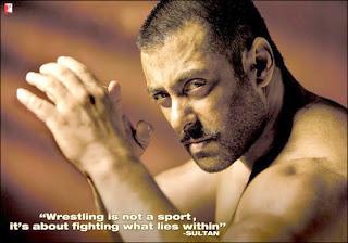 Sultan, starring Salman Khan