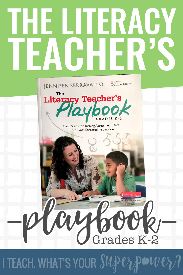 Not sure how to find your way through your mounds of testing and data to the heart of what your K-2 students need most? The Literacy Teacher's Playbook will help you find your way.