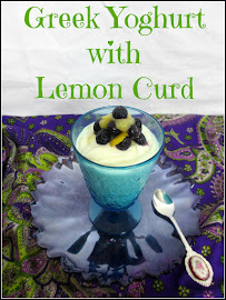 GREEK YOGHURT AND LEMON CURD DESSERT