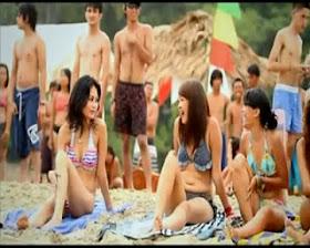 Foto Bikini di Film Jenglot Pantai Selatan