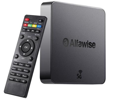 ▷[Análisis] Alfawise A8 Pro, un TV Box 4K con Android 8.1 a precio de regalo