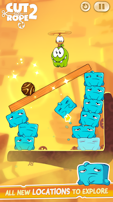 Download Cut the Rope 2 Mod Apk Unlimited Money v1.8.2 Terbaru