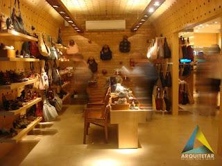 projeto arquitetura layout interno vendas loja calçados femininos