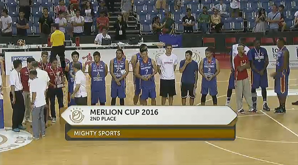 Merlion Cup 2016 Final Standings | Mighty Sports Philippines bags silver