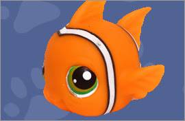 LPS Clownfish Figures