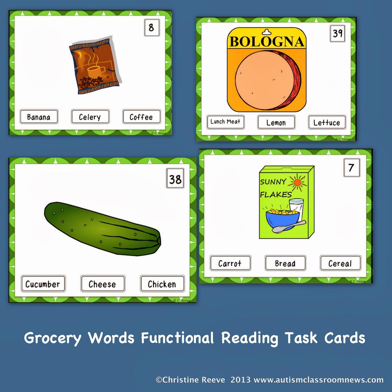 Functional Reading Worksheet Kindergarten