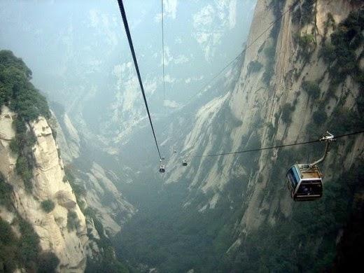 gondola,gantung,pegunungan,alam,indah