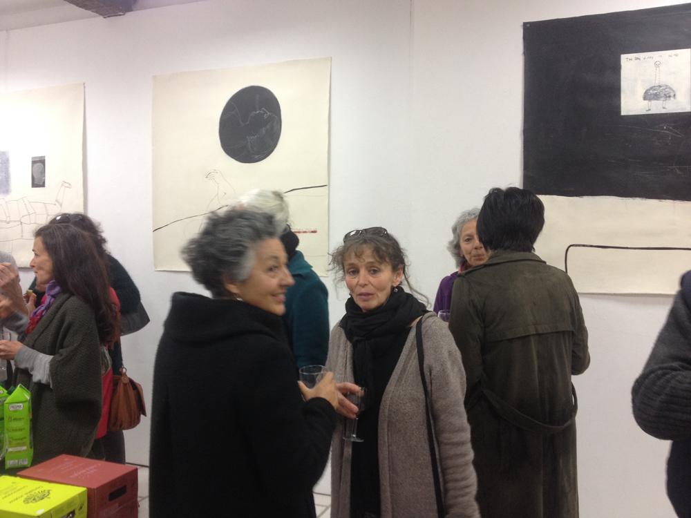 rue des arts carla bayle cit d 39 art vernissage la maison br le loreto corval n. Black Bedroom Furniture Sets. Home Design Ideas