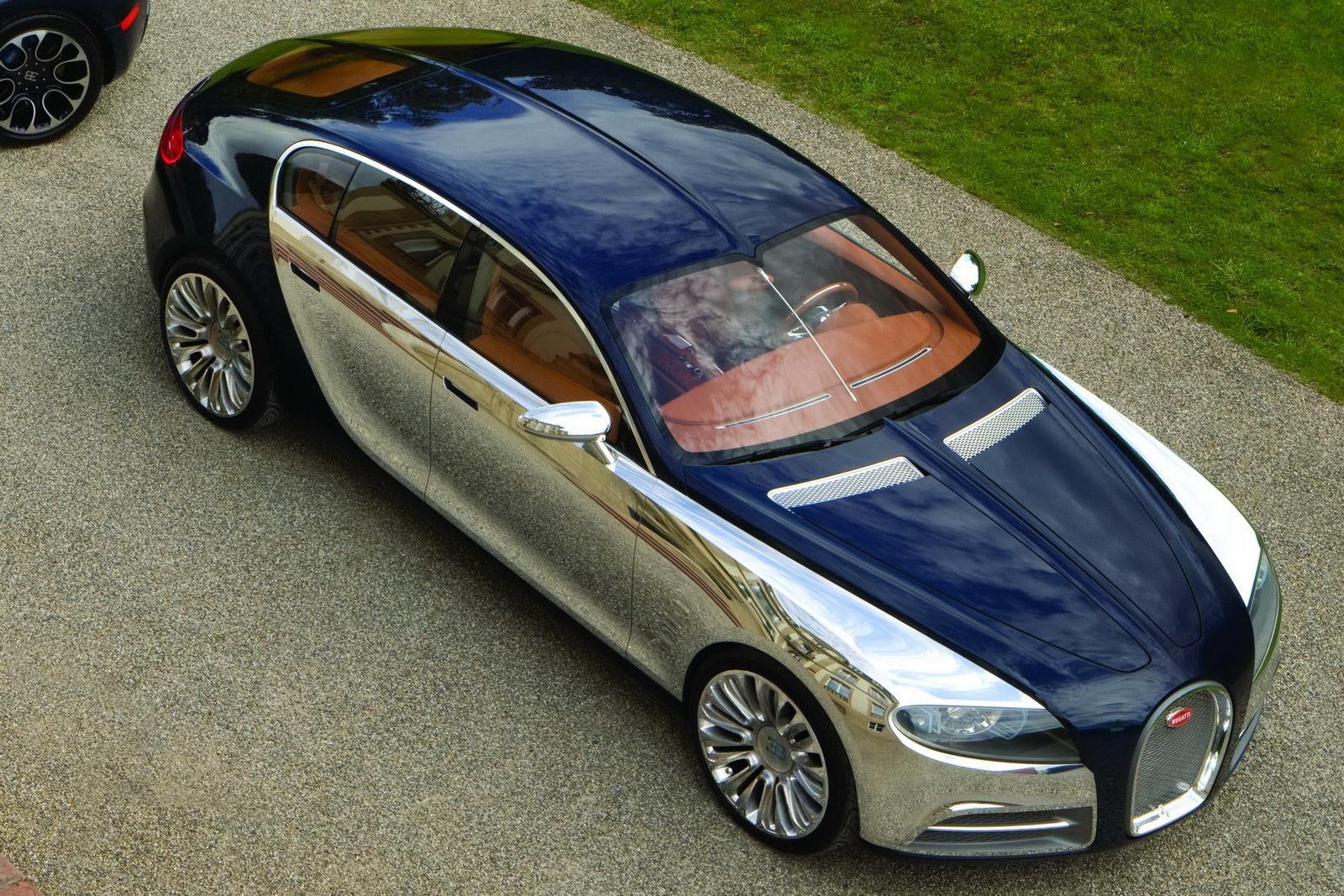 Limousine 4 cửa có thể sẽ theo bước Bugatti Chiron