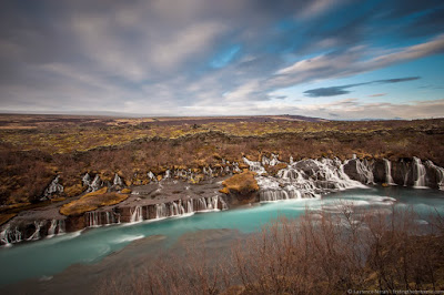 Hraunfossar Waterfall Iceland_by_Laurence Norah