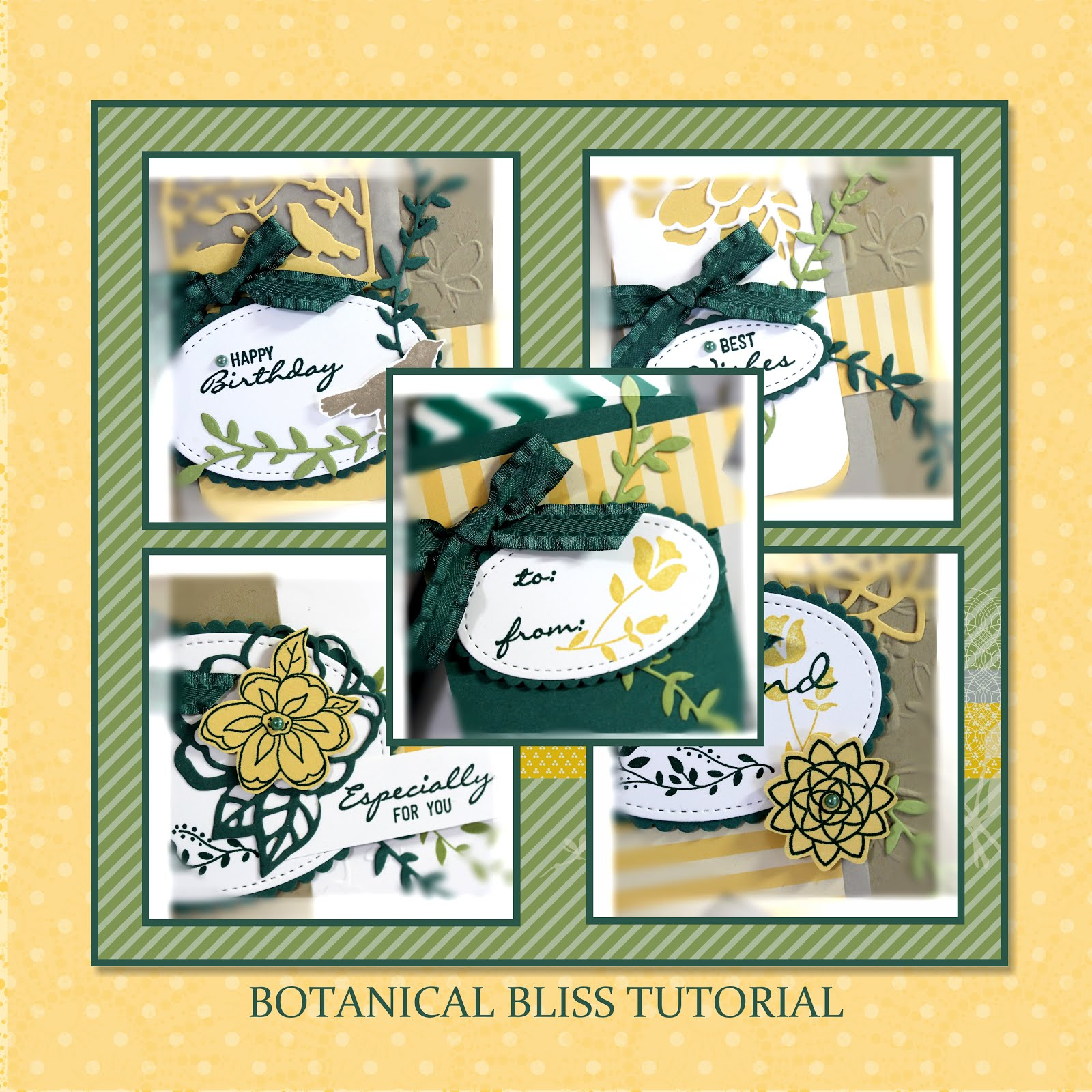 August 2018 Botanical Bliss Tutorial