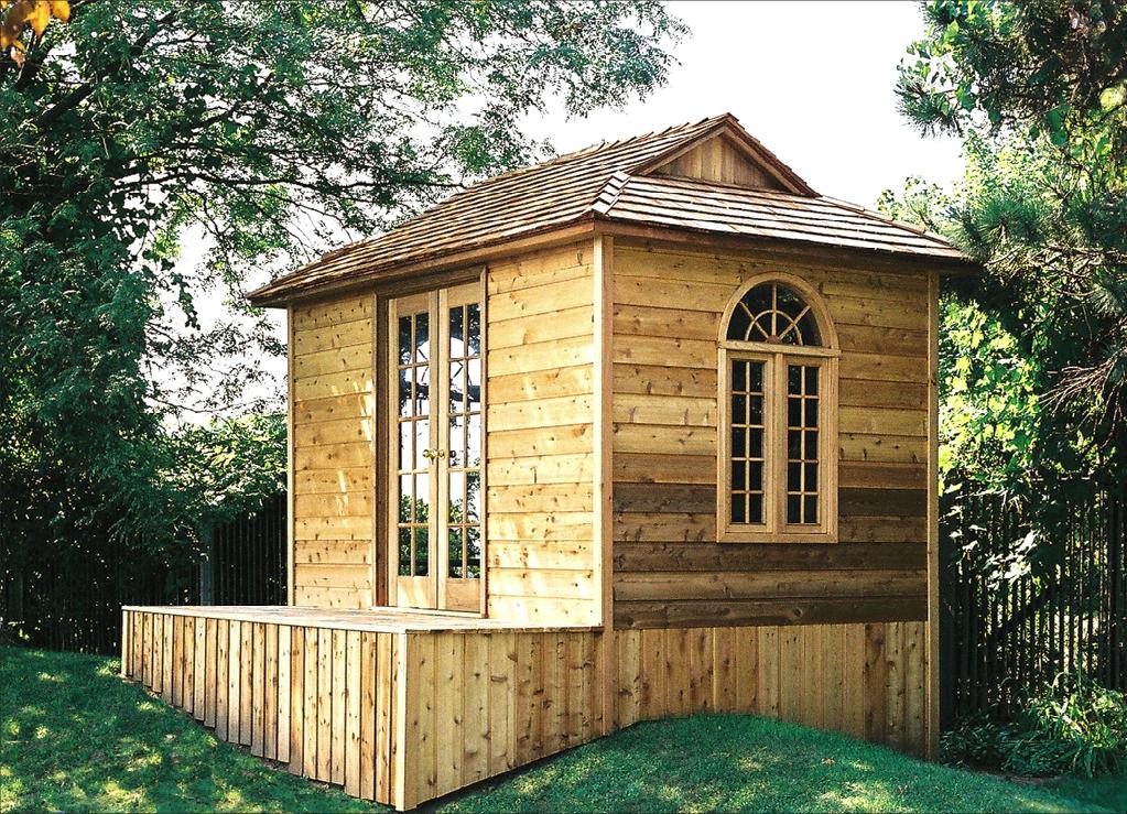 Small Prefab Homes - Prefab Cabins, Sheds, Studios: Cedar ...