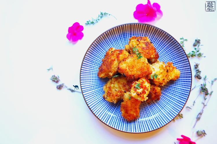 Recette Poulet-Panure-Thym Frais-Parmesan - Le Chameau Bleu Blog Cuisine et voyage