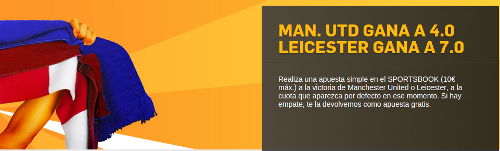 betfair supercuota Manchester United vs Leicester si has recibido email 1 mayo
