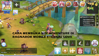 Cara Membuka NPC Adventure di Ragnarok Mobile Eternal Love
