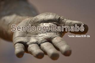 Sendo um Barnabé