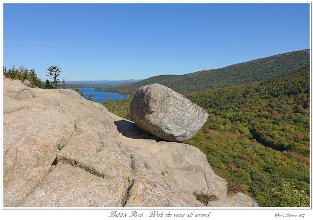 Bubble Rock: With the views all around