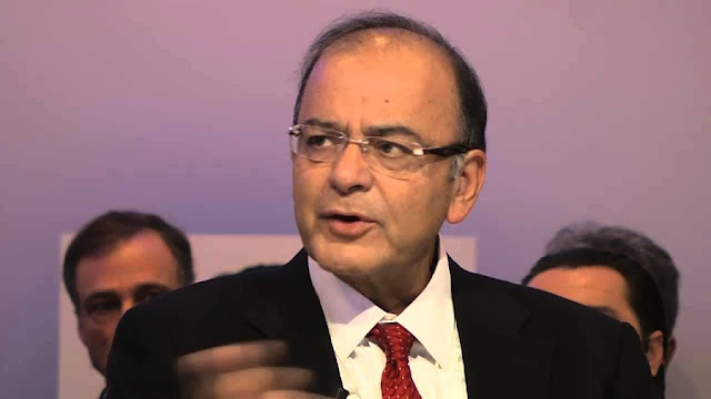Image Attribute: Mr. Arun Jaitley, Union Finance Minister of India / Source: Youtube Screengrab