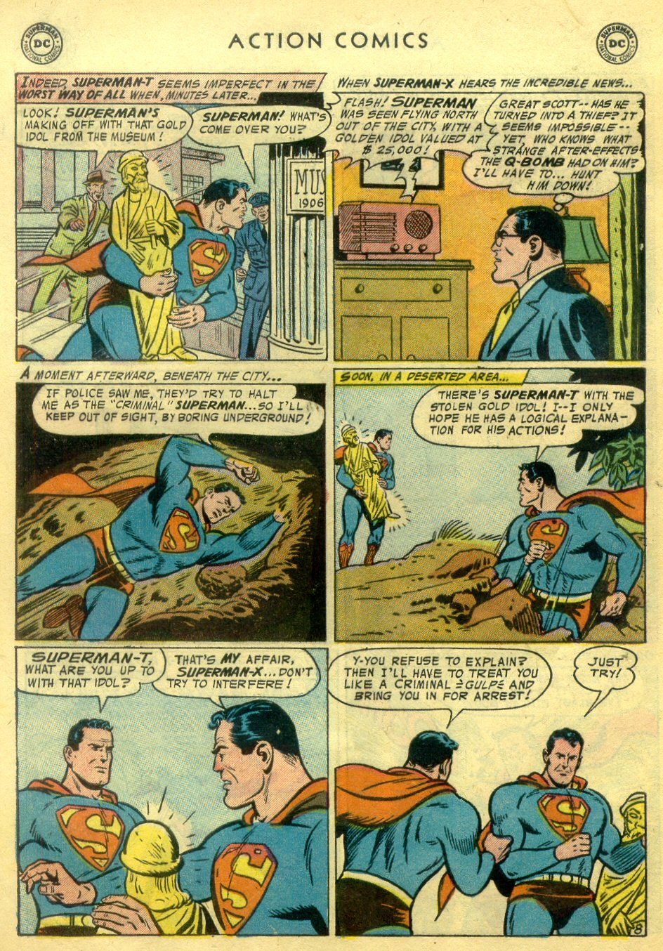Read online Action Comics (1938) comic -  Issue #222 - 9