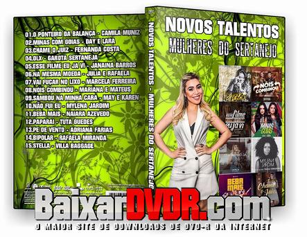 NOVOS TALENTOS – Mulheres do Sertanejo (2017) DVD-R