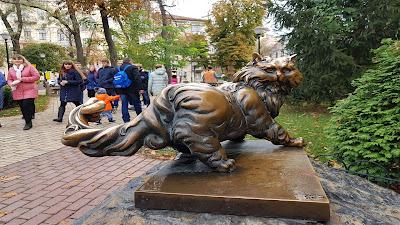 statua di gatto