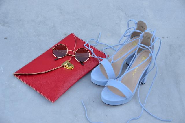 Outfit para el primer día en la ciudad de Philadelphia. Gracias al patrocinio de Visit Philly.  Wearing: Shoes/Zapatos: MakemeChic Skirt/Falda: Choies Blouse/Blusa: H&M