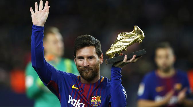 Sepatu Emas Eropa 2018  Messi Di Ambang Sejarah Baru  c95938b134